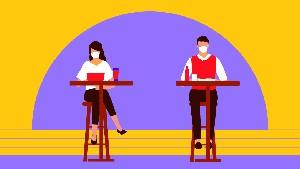 INFOGRAFIS: Mencegah Corona Saat Dine-in di Restoran
