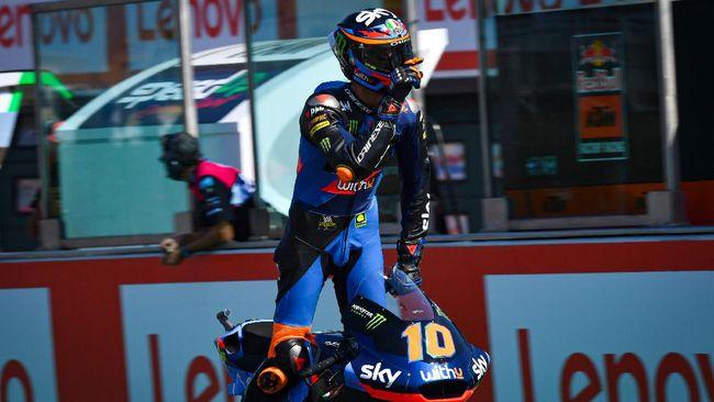 Tim balap milik Valentino Rossi, VR46, berpeluang tampil di MotoGP dengan menjadi tim satelit dari Suzuki mulai 2022.