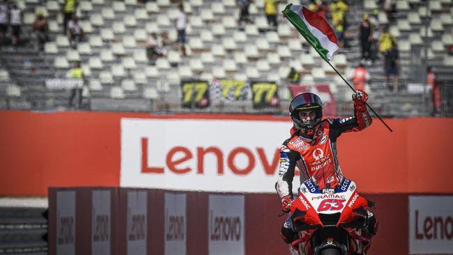 Akademi VR46 meraih banyak sukses di MotoGP San Marino 2020 meski sang pemilik, Valentino Rossi, gagal naik podium di Misano.