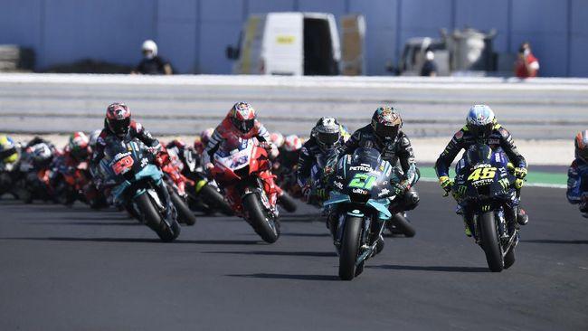Link live streaming Trans7 MotoGP Emilia Romagna 2020 bisa disaksikan melalui CNNIndonesia.com di sini.