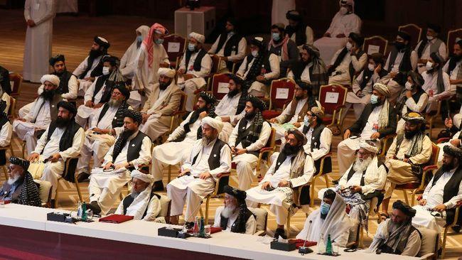 Sejak diskusi perdamaian dengan Afghanistan berlangsung akhir pekan lalu, Taliban belum juga menyepakati gencatan senjata.