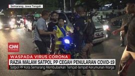 VIDEO: Razia Malam Satpol PP Cegah Penularan Covid-19