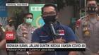 VIDEO: Ridwan Kamil Jalani Suntik Kedua Vaksin Covid-19