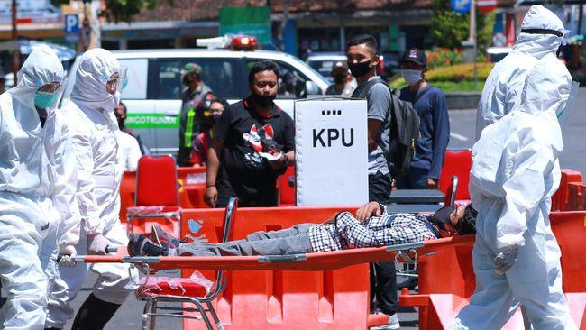 Pilkada Serentak dianggap bisa mempersulit permintaan Presiden Jokowi untuk menurunkan kasus penularan corona dalam dua pekan.