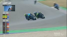 VIDEO: Detik-detik Rossi Gagal Podium di MotoGP San Marino