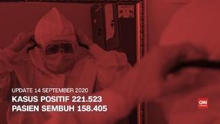 VIDEO: 14 September, Kasus Positif Covid Capai 221 Ribu