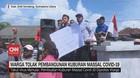 VIDEO: Warga Tolak Pembangunan Kuburan Massal Covid-19