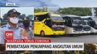 VIDEO: Imbas PSBB, Terminal Kampung Rambutan Sepi
