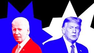 INFOGRAFIS: Saling Sindir Trump-Biden saat Kampanye