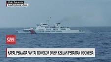 VIDEO: Kapal Tiongkok Diusir Keluar Perairan Indonesia