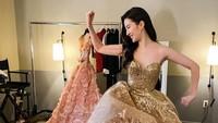 <p>Dress ini dikenakan Liu Yifei saat gala premiere Film Mulan. Cocok banget ya di badannya. (Foto: Instagram @yifei_cc)</p>