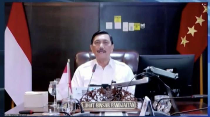 Foto: Luhut Binsar Pandjaitan. Dok: Tangkapan layar CNBC Indonesia TV