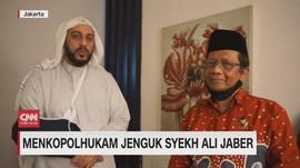 VIDEO: Menkopolhukam Jenguk Syekh Ali Jaber