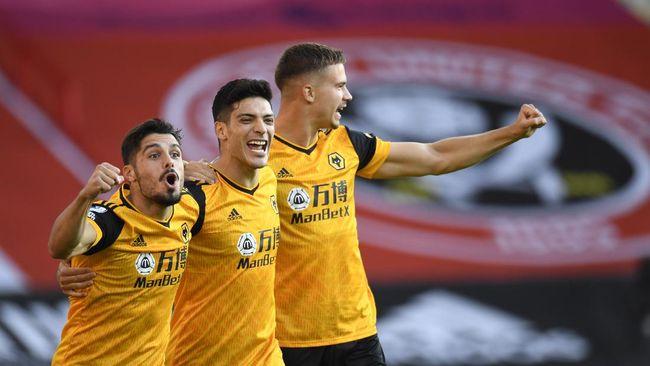 Wolverhampton Wanderers berhasil mengalahkan Sheffield United dalam laga Liga Inggris di Bramal Lane, Selasa (15/9) dini hari WIB.