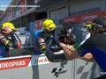 VIDEO: Momen Indah Rossi dan Adik Usai Moto2 San Marino