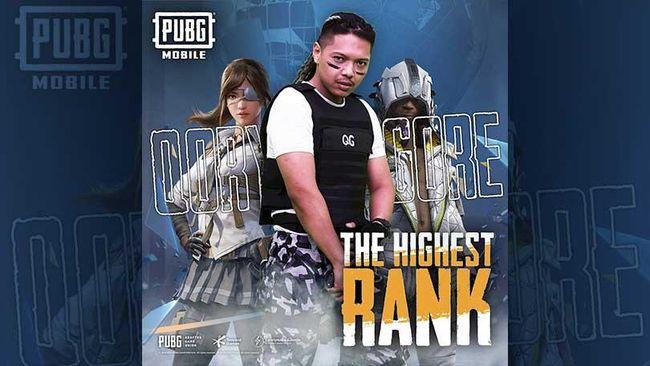 PUBG Mobile Kolab dengan QoryGore Rilis Lagu The Highest Rank