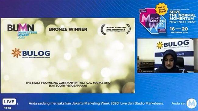 Menteri BUMN Erick Thohir berkata tujuan BUMN Marketeers Award 2020 adalah untuk mengukur daya saing pelaku branding dan marketing BUMN.