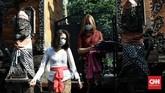 Umat Hindu Bali di DKI Jakarta tetap memperingati Hari Raya Galungan dengan khidmat di tengah suasana PSBB dalam rangka menekan penularan Covid-19.