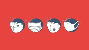 INFOGRAFIS: Efektivitas Setiap Jenis Masker Cegah Corona
