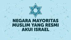 INFOGRAFIS: Negara Muslim yang Resmi Akui Israel