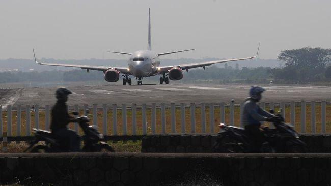 Sejumlah pesawat jet pribadi yang terparkir di Lanud Halim Perdanakusuma tak diizinkan terbang selama masa larangan mudik.