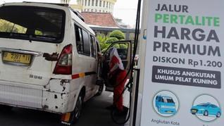 Pertalite Seharga Premium Rp6.450 di Jakarta Berlaku 2 Bulan