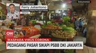 VIDEO: Pedagang Pasar Sikapi PSBB DKI Jakarta
