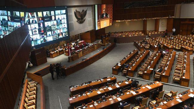 Situs Dpr Ri Lumpuh Sempat Muncul Dewan Pengkhianat Rakyat