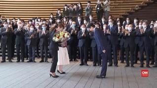 VIDEO: Shinzo Abe Tinggalkan Kantor Perdana Menteri Jepang