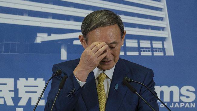 PM Jepang, Yoshihide Suga, meminta maaf setelah dua politikus partai koalisi mengunjungi kelab malam saat darurat virus corona.