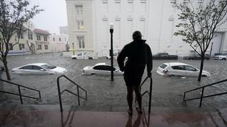 Badai Sally di AS Picu Banjir, 1 Tewas dan Ratusan Dievakuasi