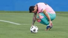 Messi Terancam Absen di Final Piala Super Spanyol