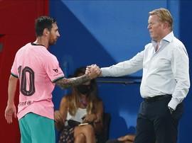 Koeman Cemaskan Nasib Usai Pernyataan Messi