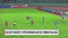 VIDEO: Gol Salto Widodo C. Putro Bersaing Jadi Gol Terbaik