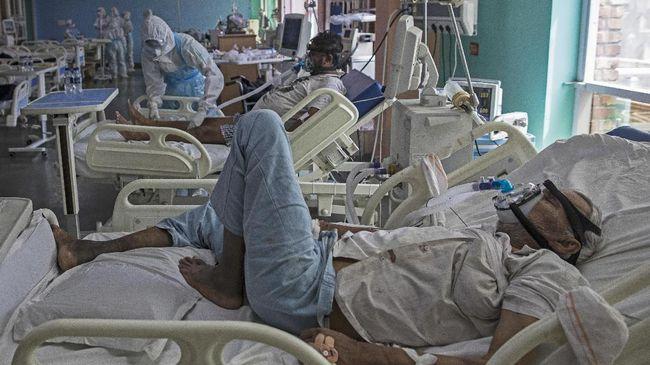 Kasus infeksi virus corona (Covid-19) di India sampai saat ini dilaporkan sudah melewati 6 juta pasien.