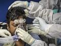 FOTO: Krisis Oksigen di India Akibat Lonjakan Kasus Corona