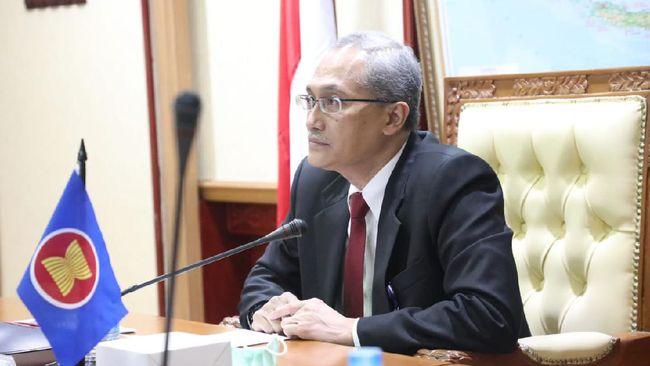 Indonesia diwakili oleh Dirjen Binalatas Budi Hartawan hadir dalam Ministerial Conference on HRD for the Changing World of Work ASEAN pada Rabu (16/9).