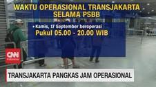 VIDEO: Transjakarta Pangkas Jam Operasional