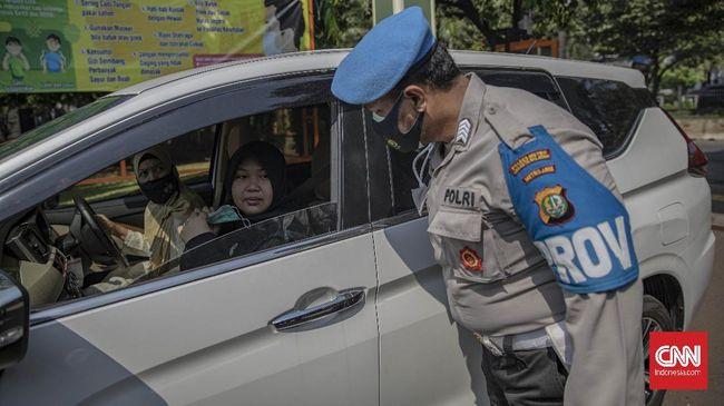 Dari 452.869 pelanggaran selama empat hari itu, kepolisian mengumpulkan denda uang sebanyak Rp399,13 juta.