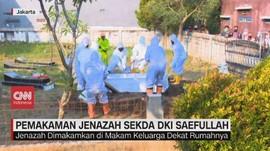 VIDEO: Pemakaman Jenazah Sekda DKI Jakarta Saefullah
