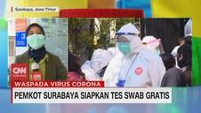 VIDEO: Pemkot Surabaya Siapkan Tes Swab Gratis 24 Jam