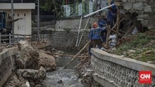 Longsor di Perumahan Pesona Jati Asri Bekasi Usai Hujan Deras