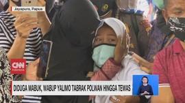 VIDEO: Tangis Anak Polwan yang Tewas Ditabrak Wabup Yalimo