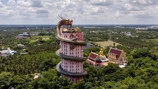 David Beckham dan Gambaran Surga Neraka di Kuil-kuil Thailand
