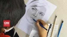 VIDEO: Anak Berbakat Pandai Melukis Wajah