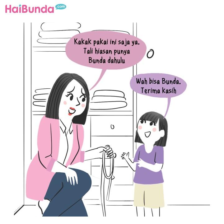 Komik Tugas Sekolah Kakak