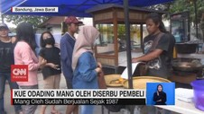 VIDEO: Kue Odading Mang Oleh Diserbu Pembeli