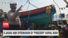 VIDEO: 5 Jasad ABK Ditemukan di 'Freezer' Kapal Ikan
