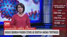VIDEO: Kasus Sembuh Pasien Covid-19 Sentuh Angka Tertinggi