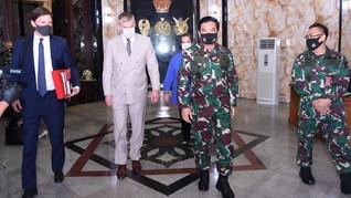 Jumpa Pejabat Pentagon, Panglima TNI Dorong Perdamaian di LCS